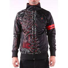 WISHBONE 3 TRACK JACKET Iron Fist, Motorcycle Jacket, Track, Athletic, My Love, Jackets, Men, Lifestyle, Products