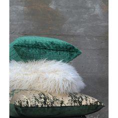 Greens and cream. Ottoman, Cream, Inspiration, Furniture, Home Decor, Creme Caramel, Biblical Inspiration, Decoration Home, Room Decor