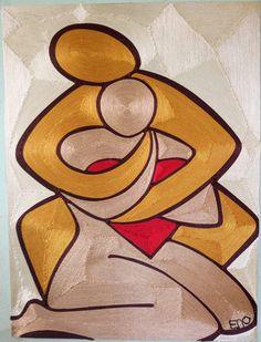 Amor Tableau Pop Art, Indian Folk Art, Art Drawings Sketches, African Art, Love Art, Collage Art, Watercolor Paintings, Art Projects, Abstract Art
