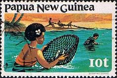 Papua New Guinea 1981 Fishing SG 417 Fine Used Scott 545 Other European and British Commonwealth Stamps HERE!