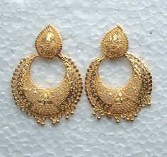 Gold-plated Jewelry Earrings | Goldplated long earring Manufacturer Exporter