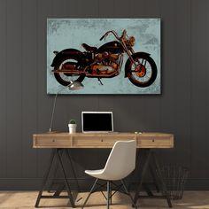 EASY RIDER 2  MIXGALLERY transport,motor,wallart,canvas,canvas print,home decor, wall,framed prints,framed canvas,artwork,art