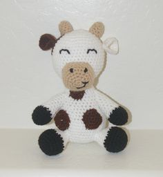 Cuthbert the Cow by Kuddles And Kritters!