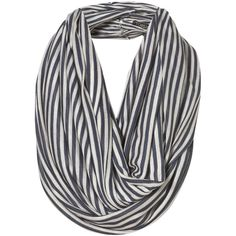 Blue Breton Stripe Snood
