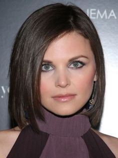 Long Bob Hairstyles For Round Face | ... with short bob hairstyle: A good hairstyle for round face shapes