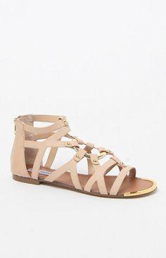 Circle Gladiator Sandals