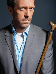 House. Rude. Crude. And obnoxious. But man is he brilliant! Hugh Laurie as House..