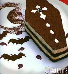 #HalloweenRoll Tiramisù...de lo iettatore
