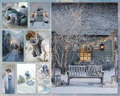 Christmas blues...by Silvia Hokke