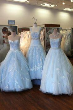 18 Best blue wedding dress images | Bridal