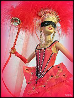 barbie doll, dress OOAK