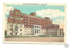 Really depressed that they're in the process of demolishing this building. Old Jewish Hospital St Louis County, Granite City, Old Hospital, Over The Bridge, St Louis Mo, Saint Charles, Old Postcards, Missouri, Lady Memes