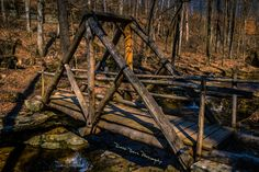 Bridge over Clifty Creek, Clifty Falls State Park, Madison Indiana