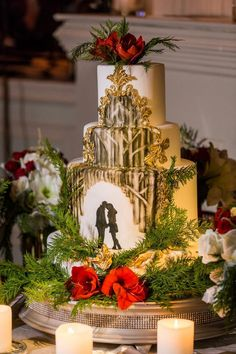 Christmas in the Woods | Christmas Wedding Ideas | Pinterest ...