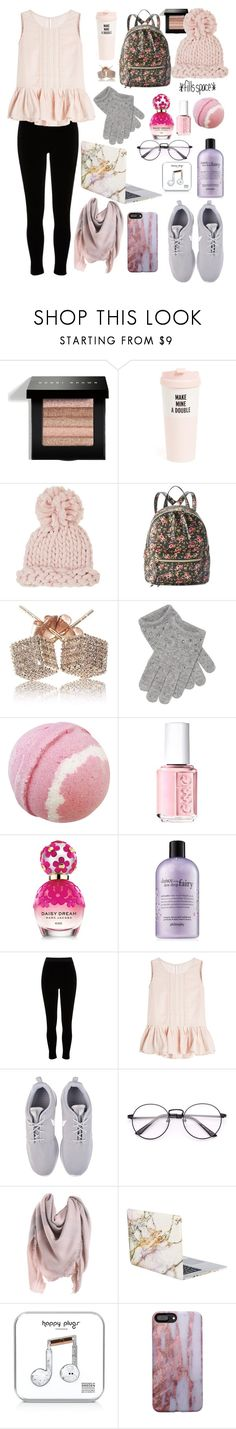 """""""Too Cute To Boot"""" by skates03 ❤ liked on Polyvore featuring Bobbi Brown Cosmetics, Kate Spade, Barneys New York, T-shirt & Jeans, Portolano, Essie, Marc Jacobs, philosophy, River Island and Velvet"""