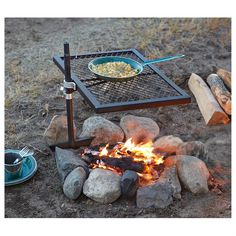 Guide Gear Swivel Fire Pit Grill [from the Sportsman's Guide]
