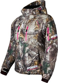 FXR Racing - Snowmobile Gear - Women's Fresh Jacket - Realtree Xtra