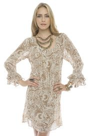 Beige Tunic Dress