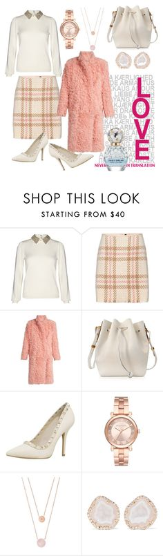 """""""Never too pink!"""" by maddie-dobson ❤ liked on Polyvore featuring Alice + Olivia, MARC CAIN, Preen, Sophie Hulme, Michael Kors, Kimberly McDonald and Marc Jacobs"""