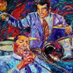 Debra Hurd Original Paintings AND Jazz Art: May 2011