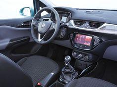 Intérieur de l'Opel Corsa E 2015. Rendez-vous au Mondial de l'Automobile 2014 à Paris pour la découvrir.