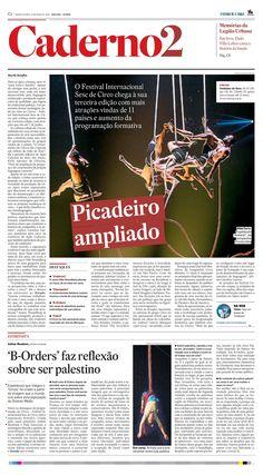 CIRCOS - Festival Internacional Sesc de Circo - Jornal O Estado de S.paulo em 27-5-2015  Caderno 2 1