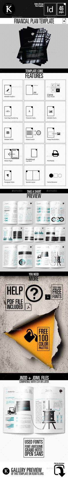 10 best Financial Plan Template   By ex Deloitte Consultants images     Financial Plan Template     InDesign INDD  business financial  indesign      Available here        https