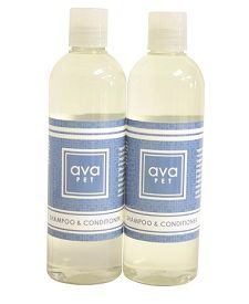 """avaPET Shampoo & Conditioner has a light scent to it that will make your fluffy friends smell great! My mom's dog Bella has been loving it and people have commented that she looks """"so young and shiny""""! I have to admit...I did trick my brother into using it, too, and he loved it as well! Great option for men ;)  http://www.avaandersonnontoxic.com/macala"""