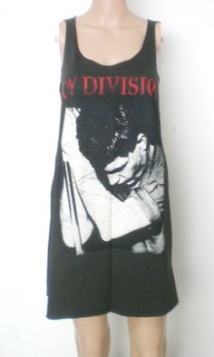 JOY DIVISION  Women  Singlet  Tank Top Mini Dress by 99rockshop, $15.99