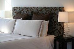 Headboard Tutorial with Measurements for a KING Size Bed