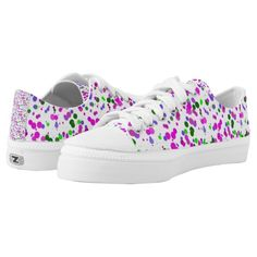 Shop Pink Polka Dot Confetti Low-Top Sneakers created by futureimaging. Printed Shoes, Athletic Fashion, Kids Sneakers, Pink Polka Dots, Custom Sneakers, Confetti, Unisex, Future, Prints