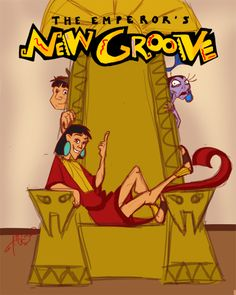 Disney:The Emperor's New Groove Pixar Movies, Disney Movies, Disney Movie Posters, Eartha Kitt, Emperors New Groove, Walt Disney Pictures, Famous Movies, Classic Cartoons, Disney Art