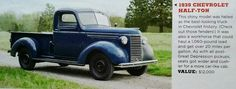 1939 Chevy Half-Ton Truck