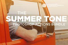 150+ Gorgeous Summer Tone Photoshop Actions & Brushes - $24!