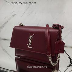 SAINT LAURENT SAVE RM878 on Monogram Sunset medium leather crossbody bag now ONLY RM7,900 previous UK price RM8,778