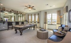 Village Builders: A Lennar Luxury Brand - Harmony in Spring, Texas - Game room