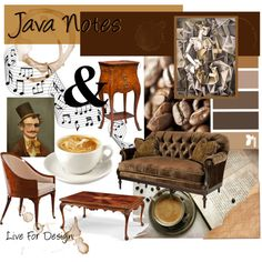"""Java Notes"" by livefordesign on Polyvore"