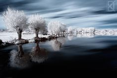 / Photo IRréel by David Keochkerian Amazing Photography, Art Photography, Landscape Photography, Infrared Photography, Photo D Art, Winter Beauty, Source Of Inspiration, Photo Illustration, Illustrations