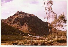 """El famoso cerro """"Jesús"""" en Hualgayoc - Perú, que produjo incontables cantidades de Plata en la época de la Colonia, y sigue produciendo."""