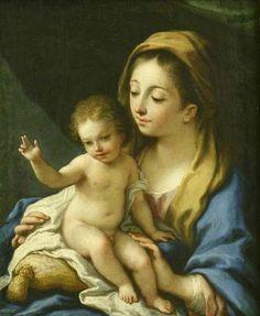 1489 – 1534 Antonio da Correggio, Madonna and Child
