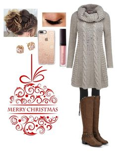 """""""winter outfit"""" by johnnycat1700 on Polyvore featuring adidas Originals, Joe Browns, JustFab, Avon, Laura Mercier, Casetify and Tory Burch"""