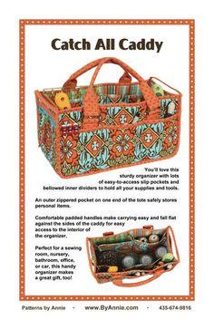 Catch All Caddy Pattern by ByAnnie.com at KayeWood.com