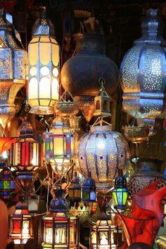 Lanterns in Marrakech