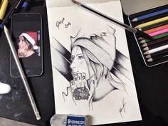 [girl] Bic su carta.  2014 Art