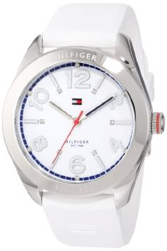 Tommy Hilfiger Women's 1781255 Sport White Silicon Stainless Steel Watch http://suliaszone.com/tommy-hilfiger-womens-1781255-sport-white-silicon-stainless-steel-watch/