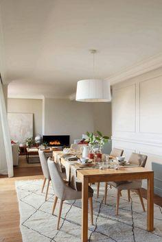 Эта дивная квартира была спроектирована дизайнерами студии Meritxell Ribe для семьи с двумя детьми