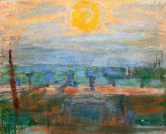 """Carl Kylberg 1878-1952. """"Sunrise"""""""