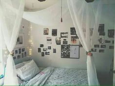 Easy idea for a tumblr bedroom