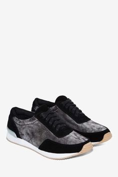 Shimmer Me Timbers Leather Sneaker - Sneakers