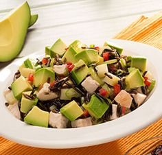 Avocado Salad Center I Avocados From Mexico Salad Recipes Healthy Lunch, Avocado Salad Recipes, Healthy Salad Recipes, Avocados From Mexico, Homemade Honey Mustard, Best Vitamin C, Party Food Platters, Clean Eating, Healthy Eating